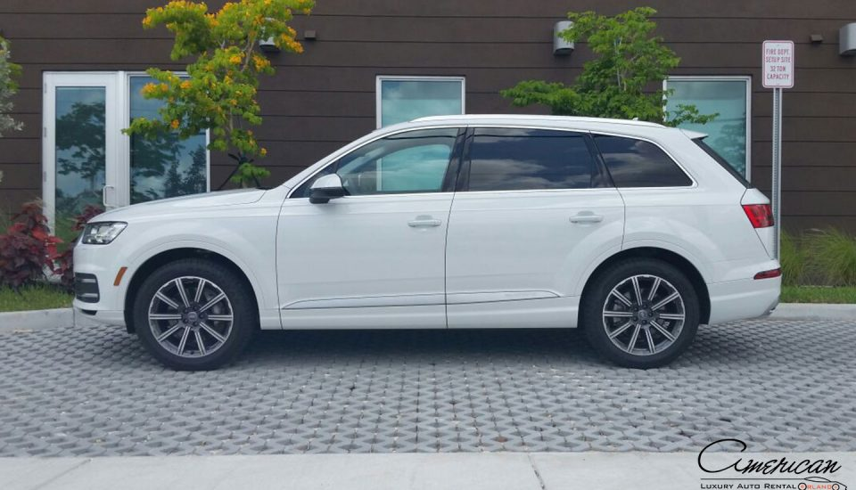 Audi Q7 Supercharged Rental in Orlando