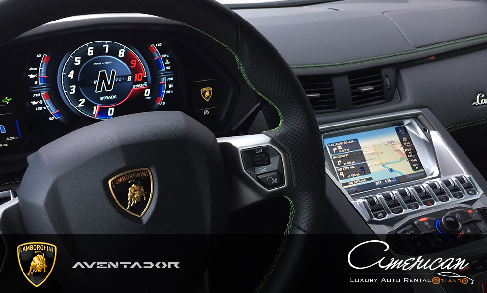 Lamborghini Aventador S Rental In Orlando American