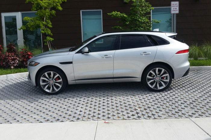 Jaguar F-PACE S SUV Rental In Orlando