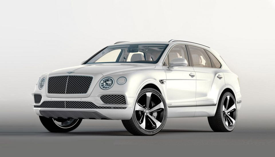 Bentley Bentayga Rental in Orlando W12 600hp