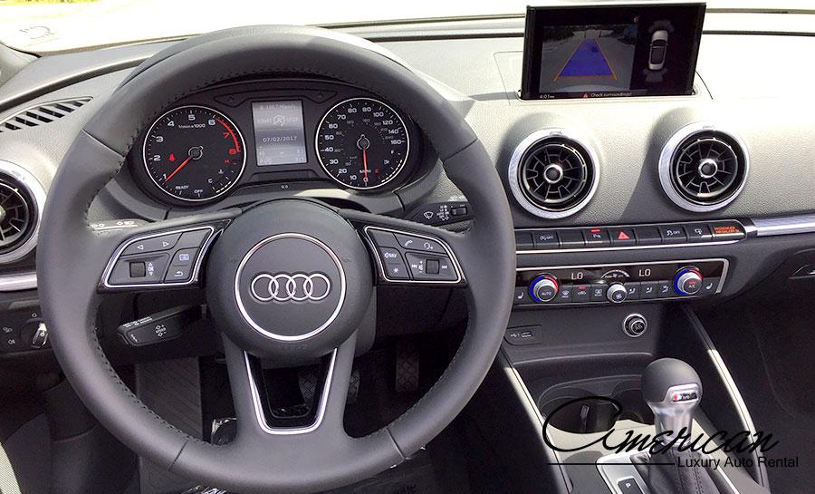 Audi A3 S Rental In Orlando American Luxury Auto Rental