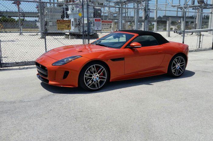 Jaguar Rental In Orlando F-Type R V8 Convertible AWD