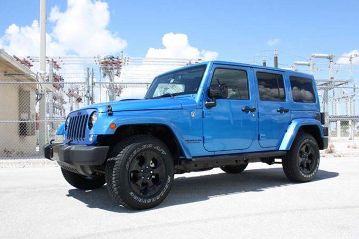 Jeep Rental in Orlando Wrangler Polar Edition 4×4