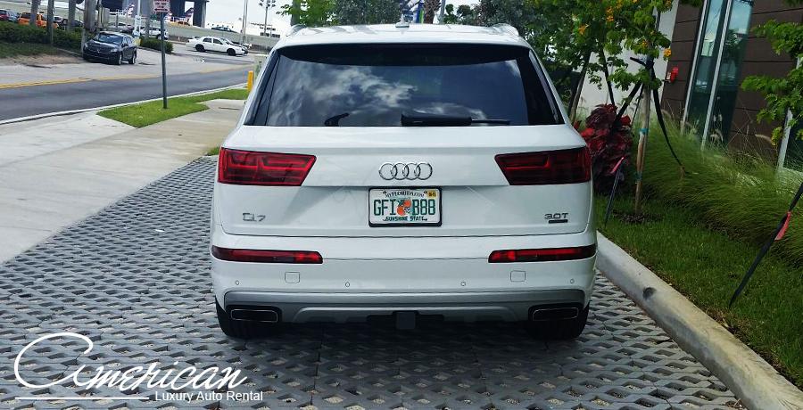 Audi Q7 Supercharged Rental In Orlando American Luxury