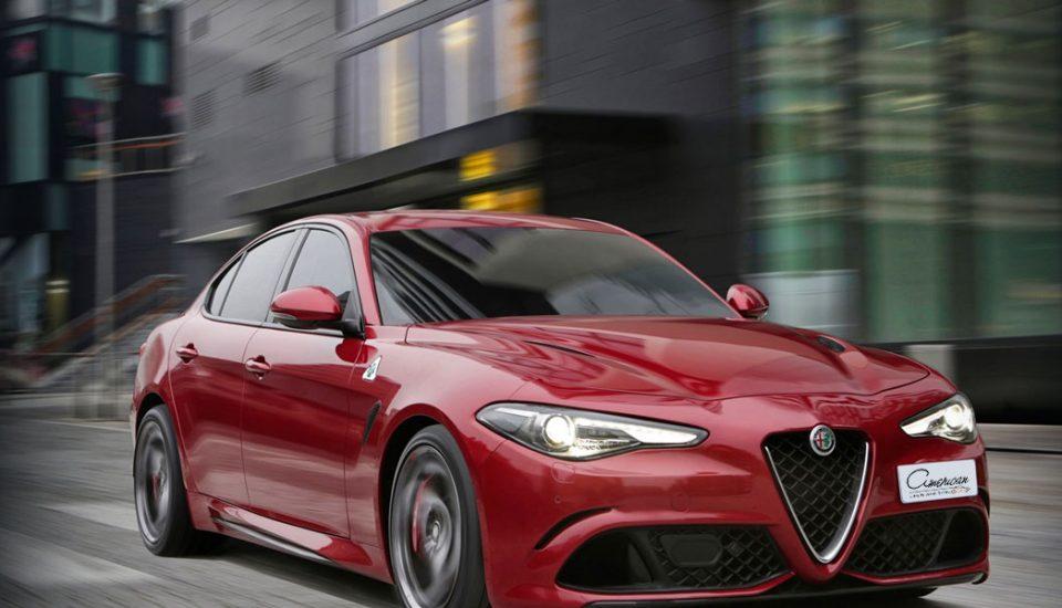Alfa Romeo Giulia Sport Rental in Orlando
