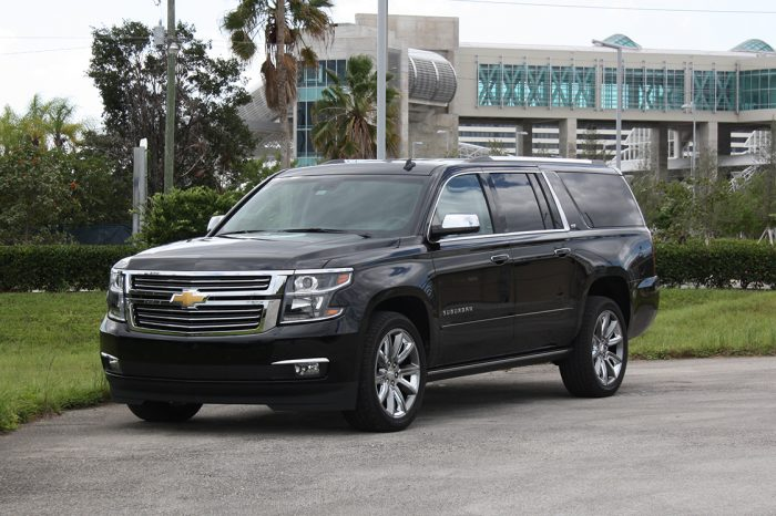 Chevrolet Suburban LTZ Rental in Orlando and Miami