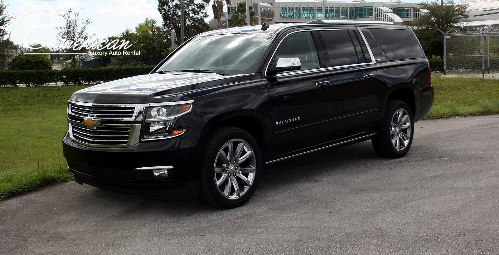 Chevrolet Suburban LTZ Rental in Orlando and Miami – American Luxury Auto Rental