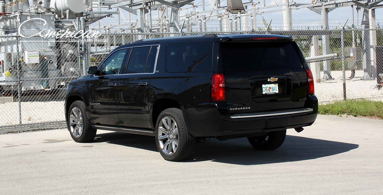Chevrolet Suburban Ltz Rental In Orlando And Miami