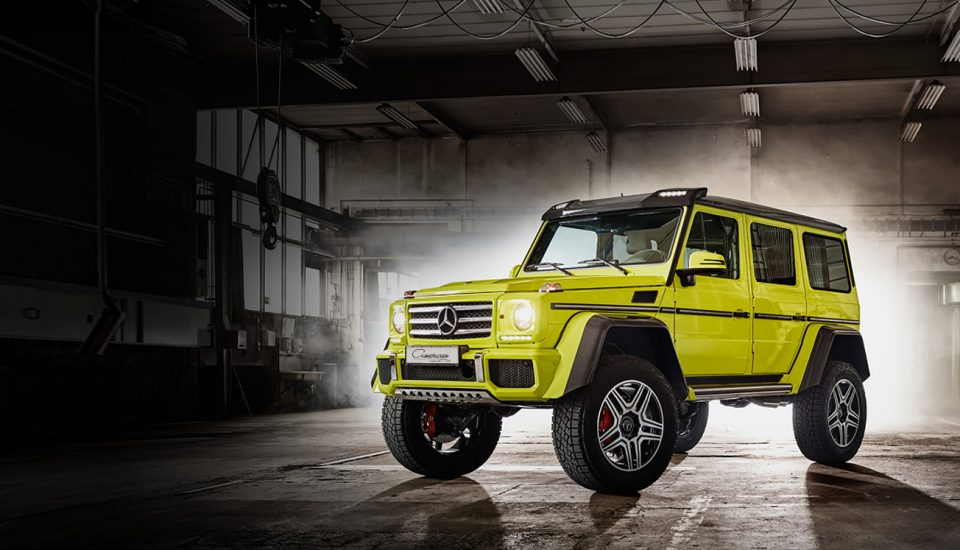 Mercedes Benz G550 Squared 4×4 Rental in Orlando