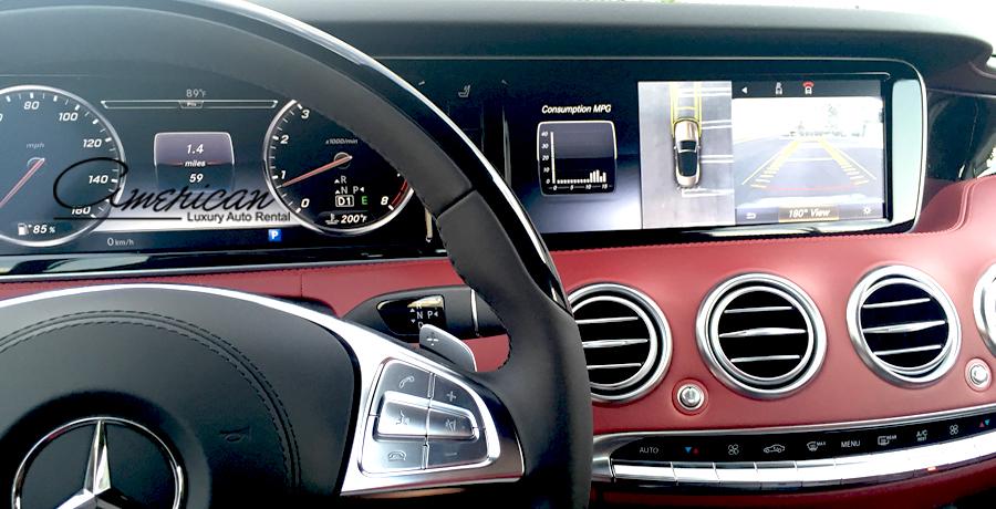 Mercedes Benz S 550 Cabriolet Rental In Orlando American