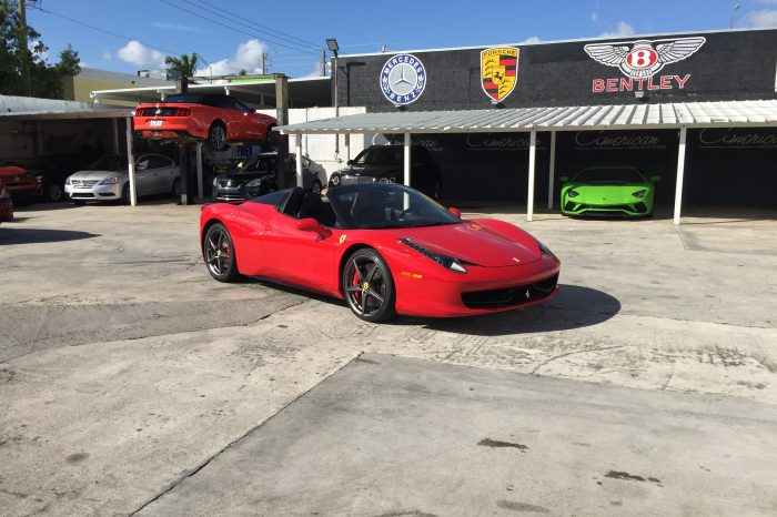Ferrari 458 Italia Spider Rental in Orlando