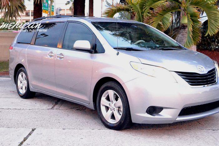 Toyota Sienna Minivan Rental in Orlando