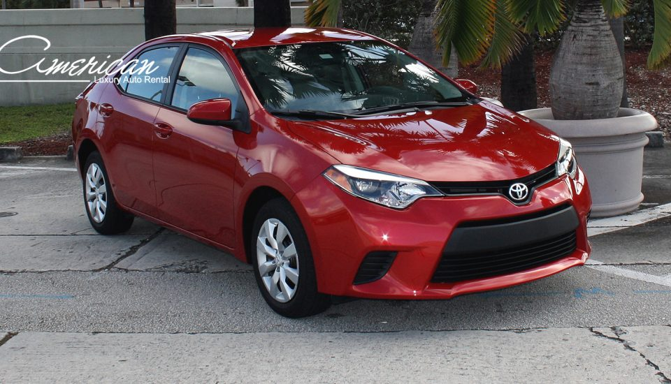 Toyota Corolla LE Rental in Orlando and Miami