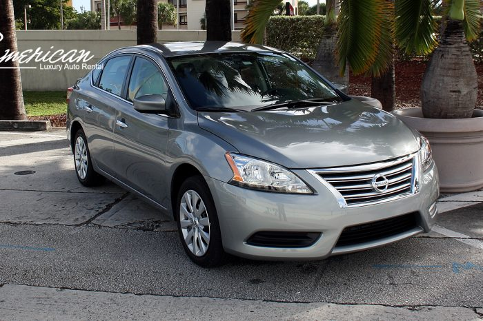 Rent a Nissan Sentra SV in Orlando