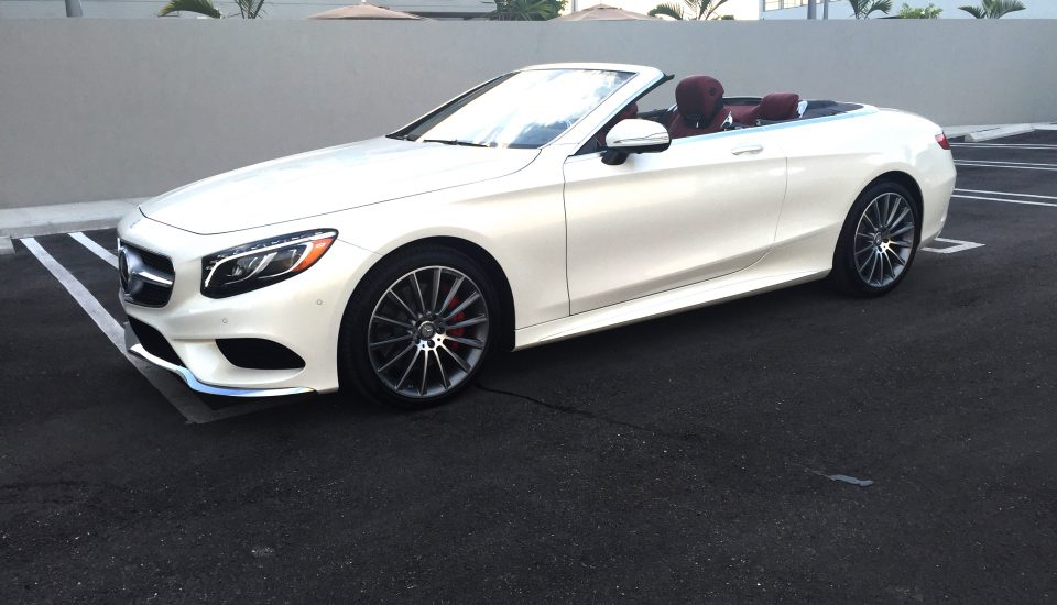 Mercedes Benz S 550 Cabriolet Rental in Orlando