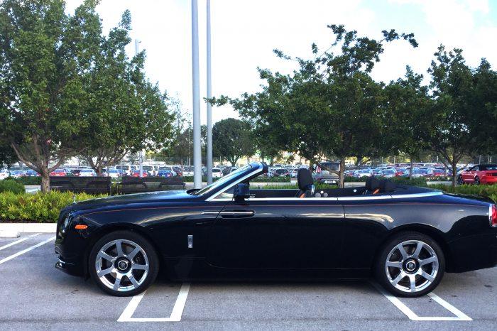 Rolls Royce Dawn Rental in Orlando