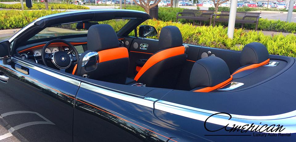 Rolls Royce Dawn Rental In Orlando American Luxury Auto