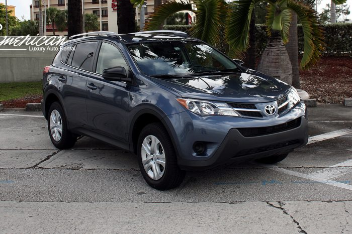 Toyota Rav 4 Rental in Orlando