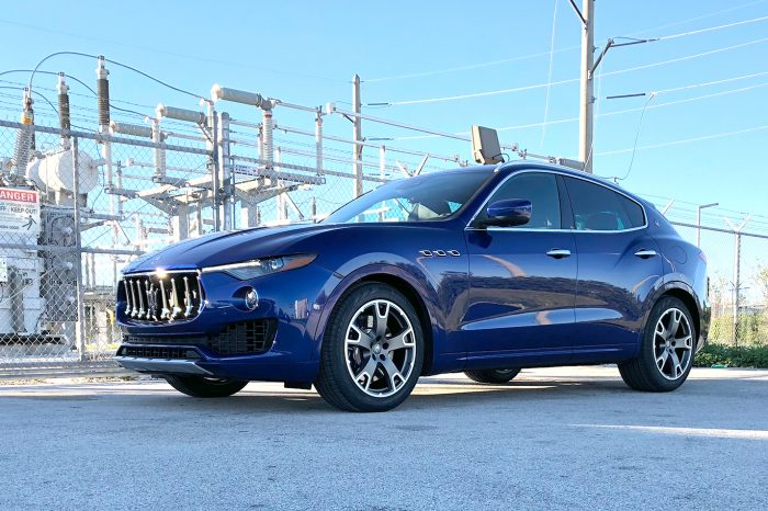 Maserati Rent in Orlando Levante Luxury SUV