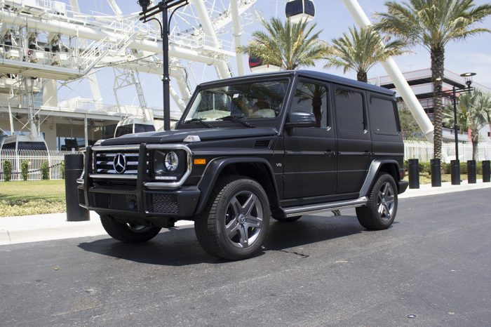Mercedes Benz G550 Rental in Orlando