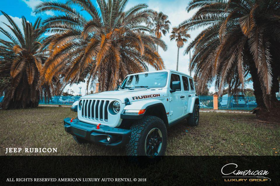 Jeep Wrangler Rubicon Rental In Orlando American Luxury