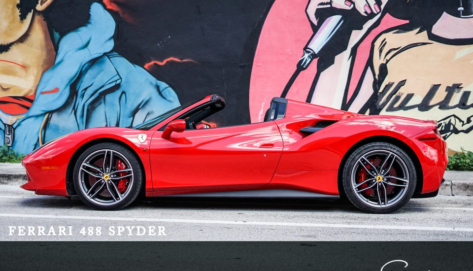 Ferrari 488 GTB Spider Rental in Orlando