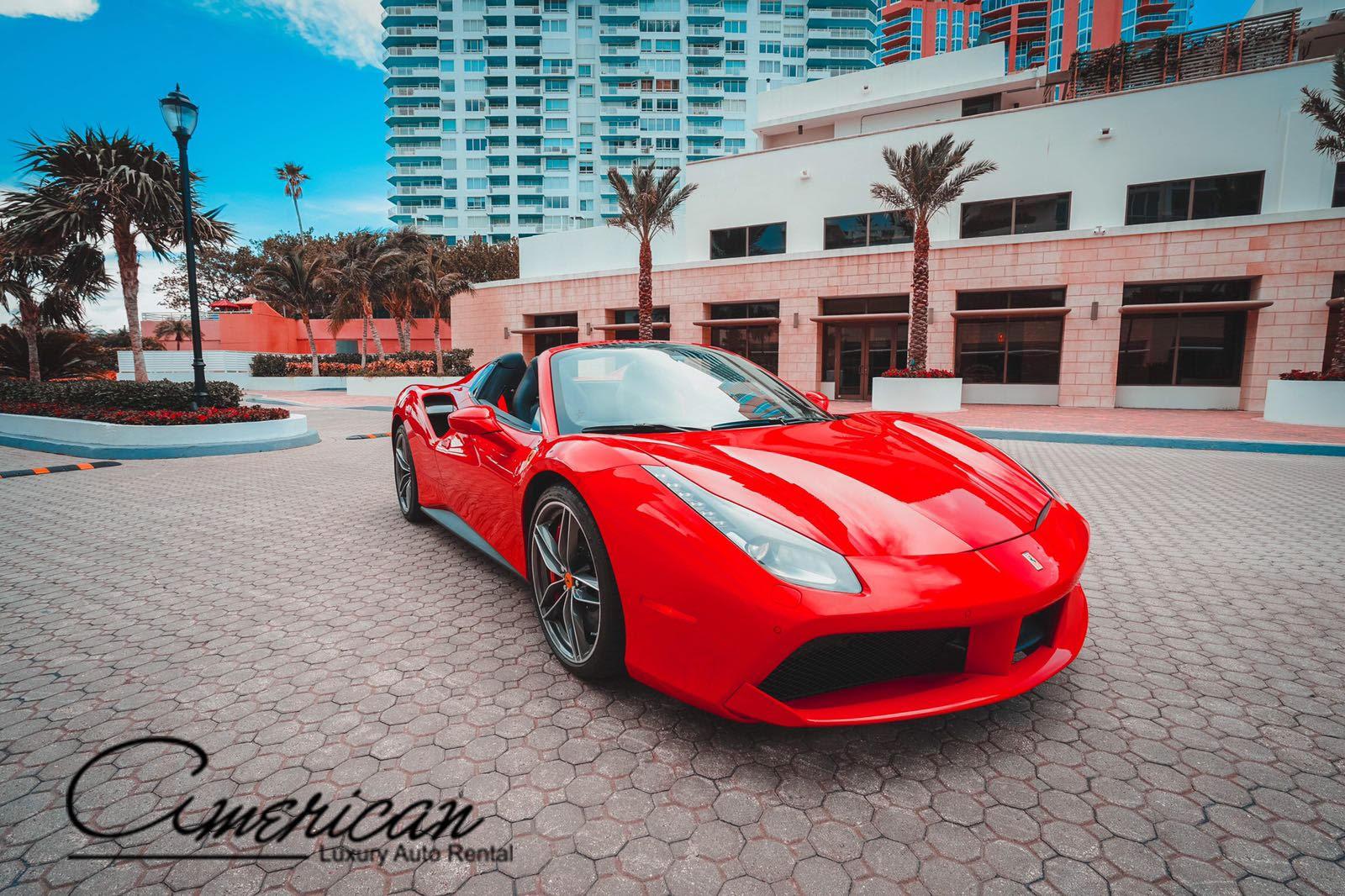 Ferrari 488 Gtb Spider Rental In Orlando American Luxury
