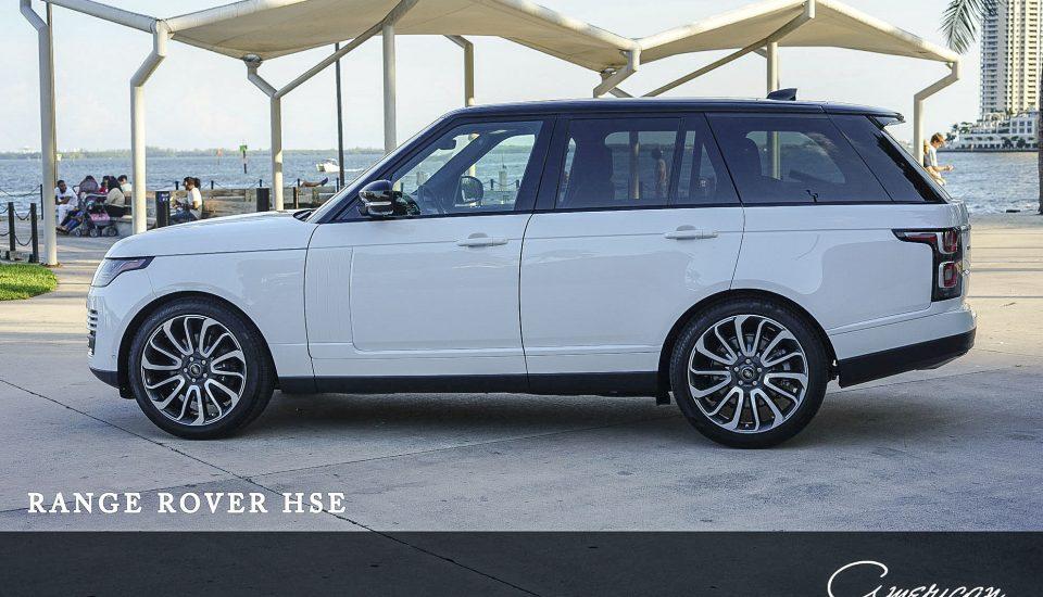 Range Rover HSE Rental in Orlando