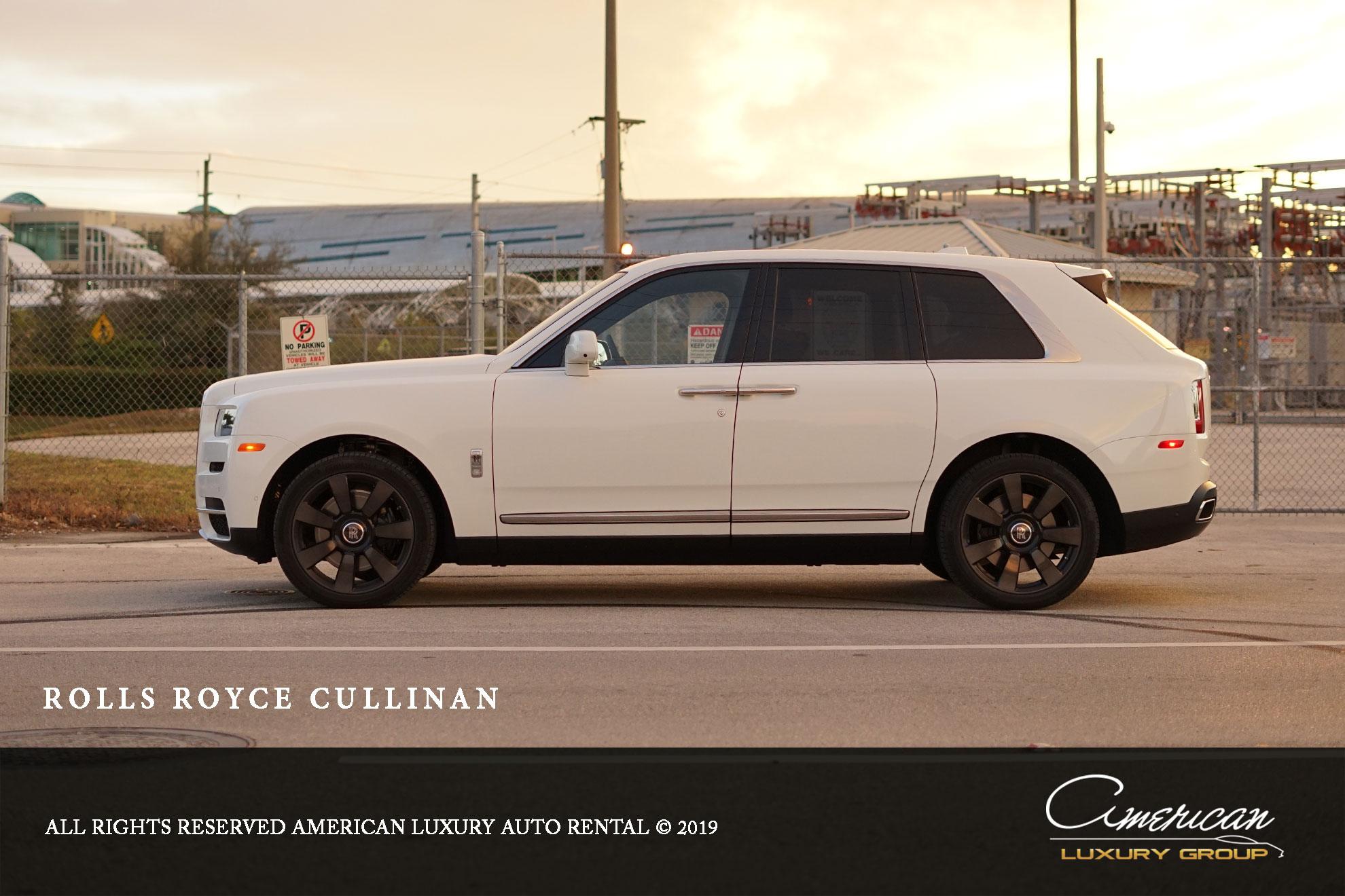Rolls Royce Cullinan Rental In Orlando American Luxury