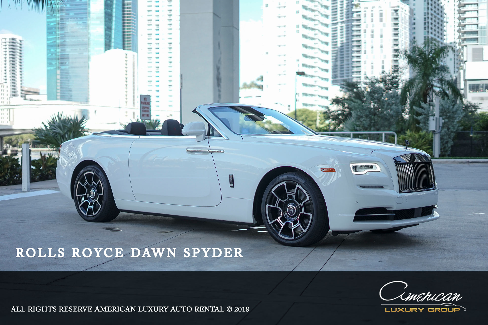Rolls Royce Dawn Black Badge Edition Rental In Orlando