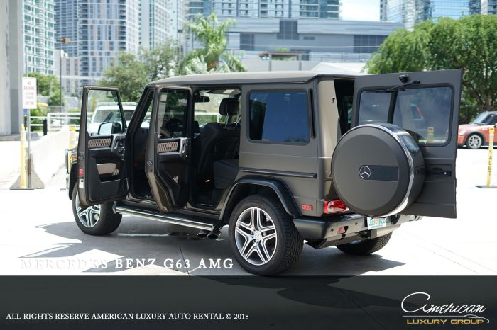 Mercedes Benz G63 Rental in Orlando