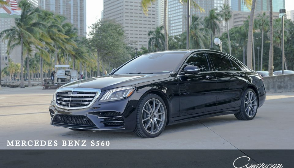Mercedes Benz S 560 Rental in Orlando and Miami