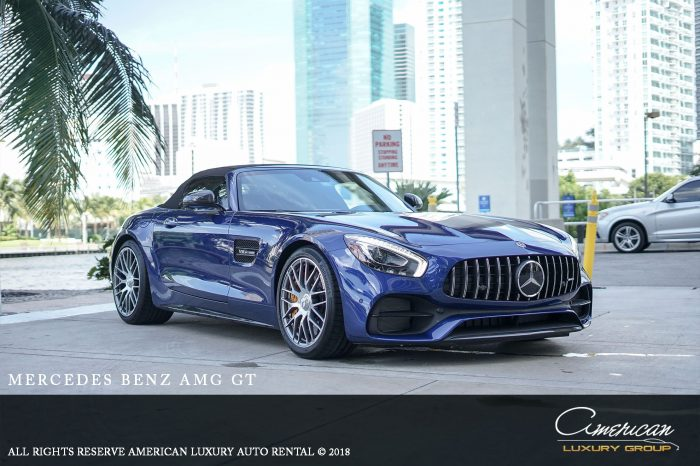 Mercedes Benz AMG GTC Rental in Orlando