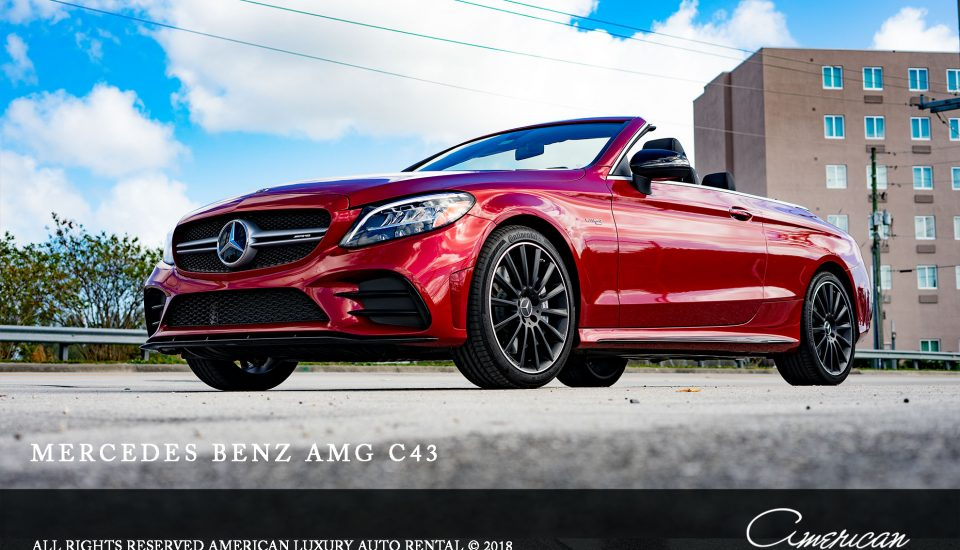 Mercedes-Benz AMG C43 Convertible