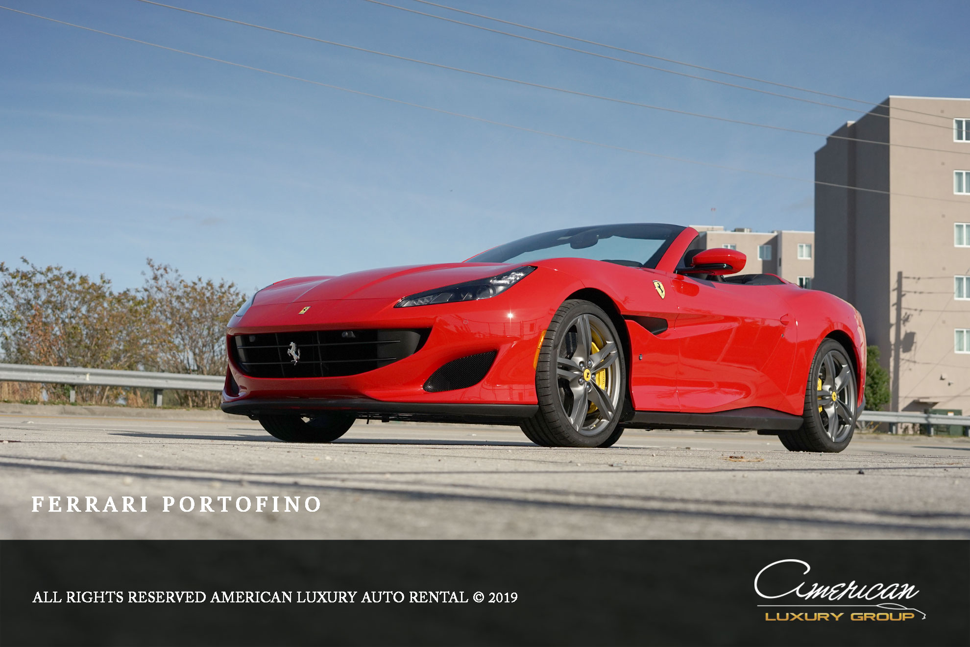 Ferrari Portofino Spider Rental In Orlando American Luxury Orlando