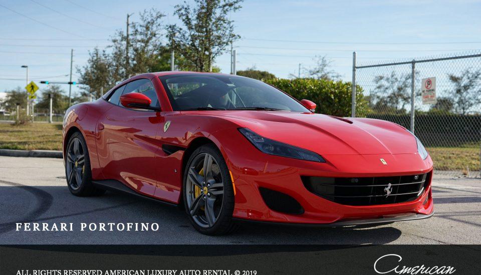 Ferrari Portofino Spider Rental in Orlando