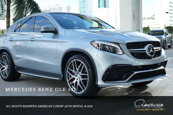 Mercedes Benz AMG GLE63 S Rental in Orlando