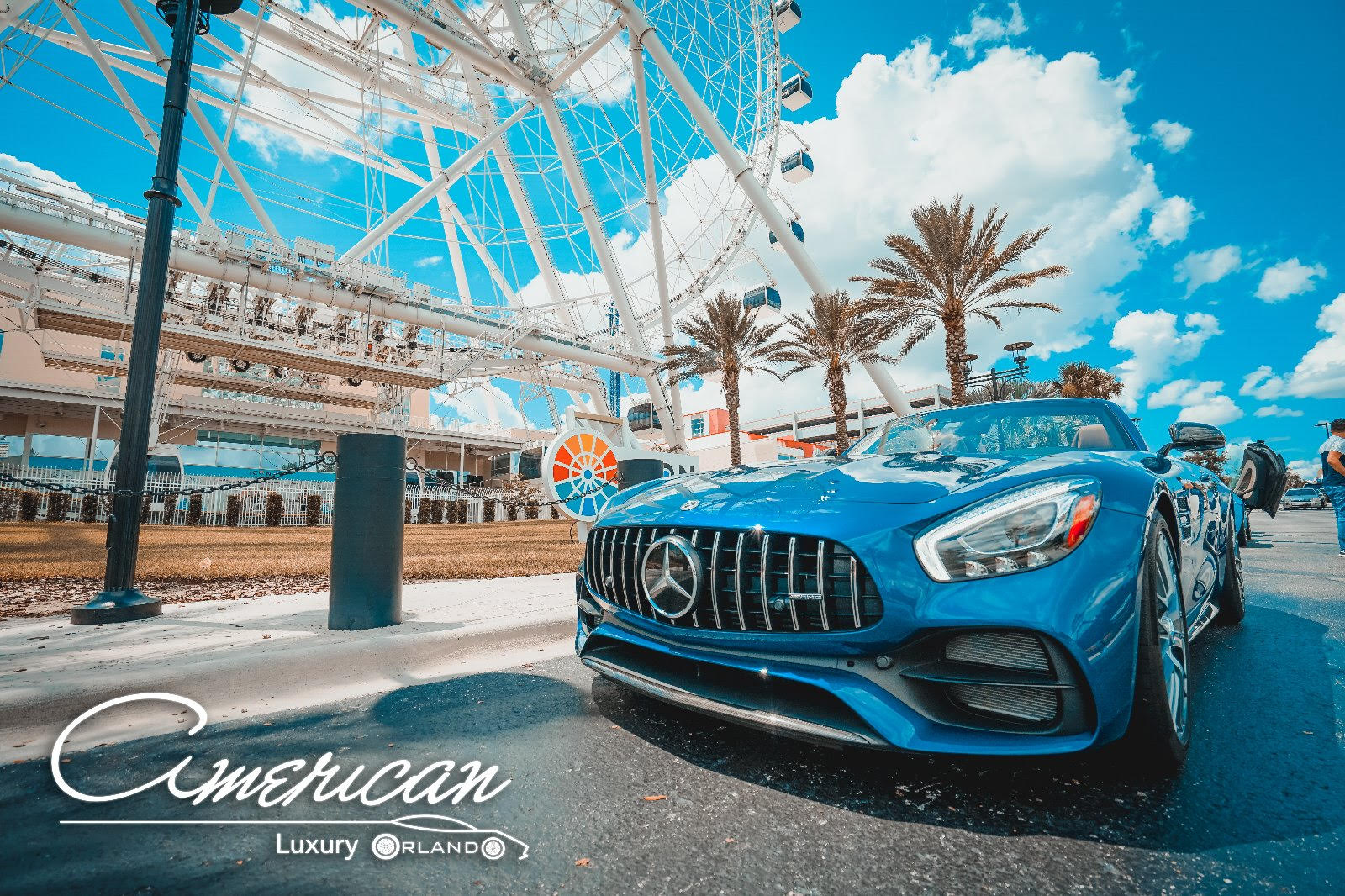 Mercedes Benz Amg Gtc Rental In Orlando American Luxury
