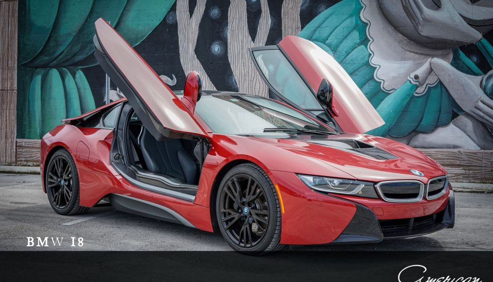 BMW i8 Red Edition